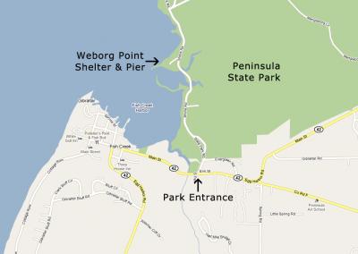 Weborg Point, Peninsula State Park, Fish Creek, WI