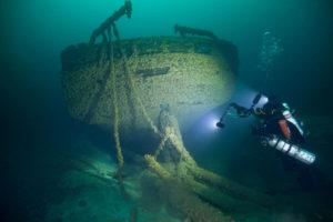 Peshtigo Shipwreck photo